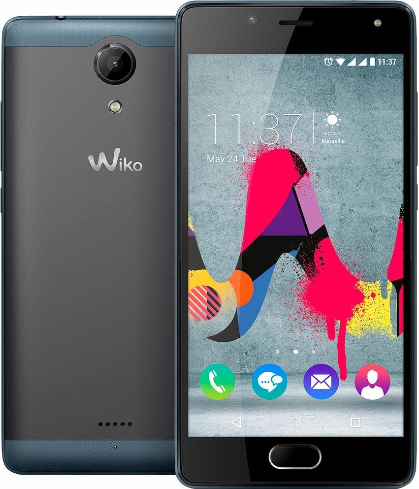 Wiko U Feel Lite Smartphone, 12,7 cm (5 Zoll) D...