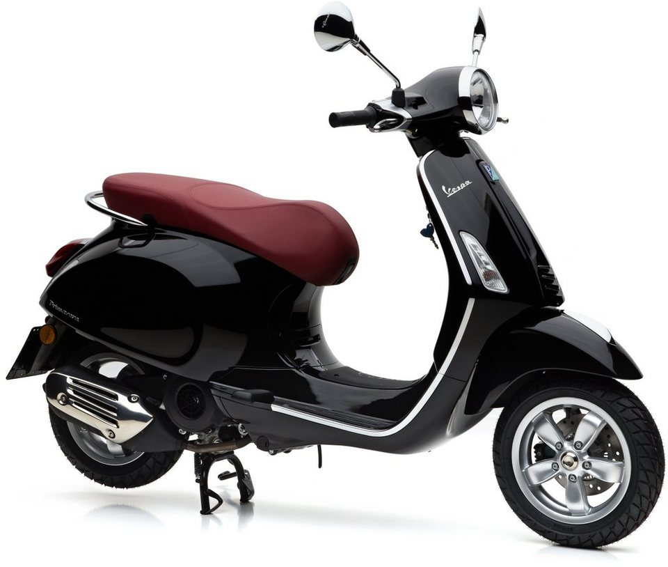 vespa motoroller 125 ccm 10 7 ps 91 km h schwarz. Black Bedroom Furniture Sets. Home Design Ideas