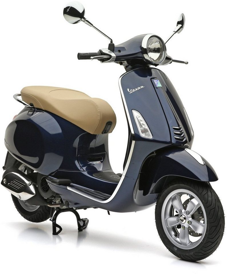 vespa motoroller 125 ccm 10 7 ps 91 km h blau. Black Bedroom Furniture Sets. Home Design Ideas