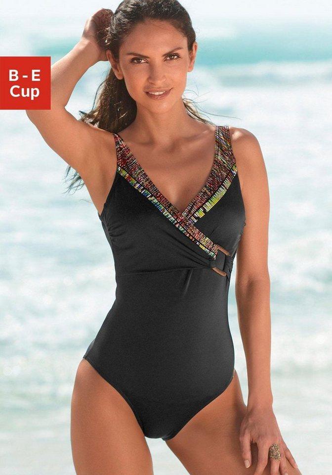 Badeanzug, Sunflair in schwarz