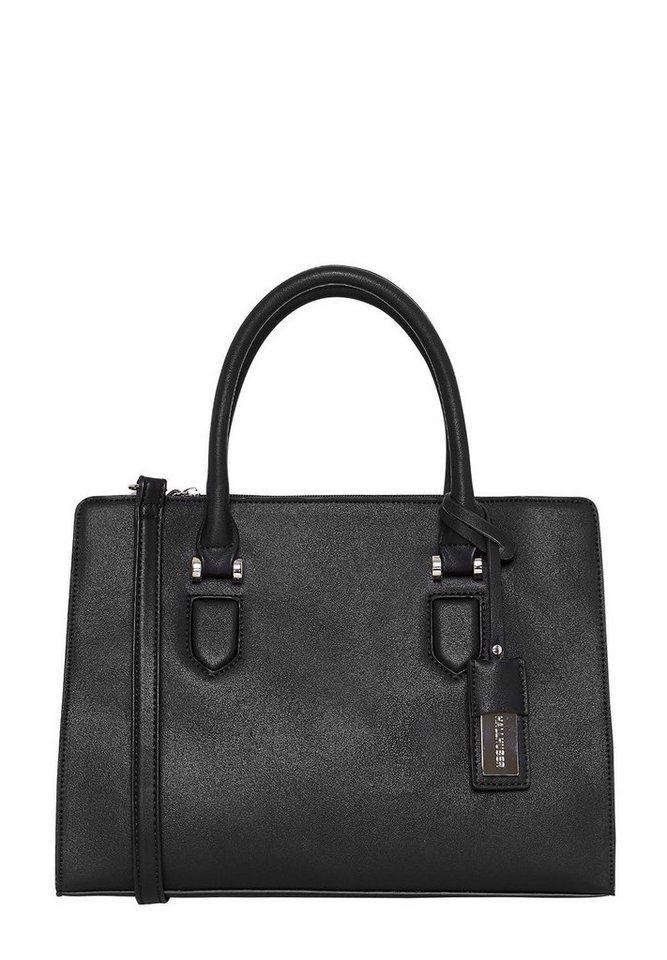 HALLHUBER Handtasche im klassischen Look in schwarz