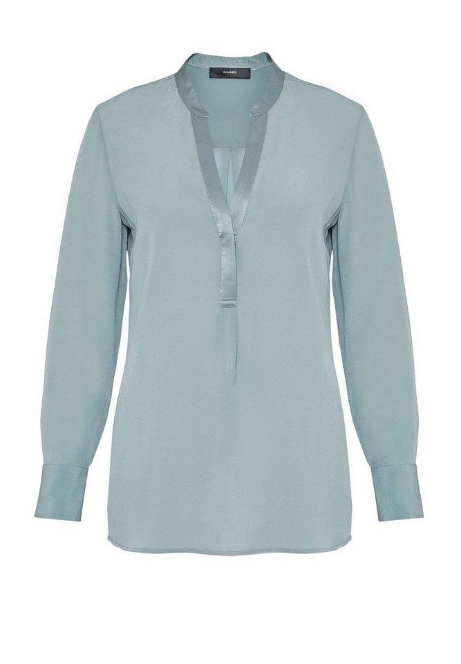 HALLHUBER Tunika-Bluse aus Seide in opal