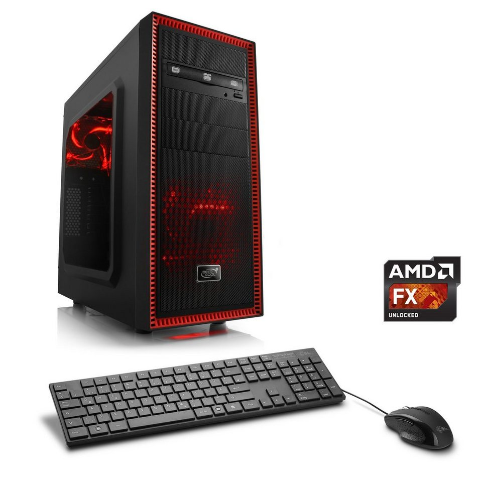 CSL Multimedia PC | AMD FX-8370E | Radeon R5 230 | 8 GB RAM | WLAN »Sprint T6821 Windows 7 Pro«
