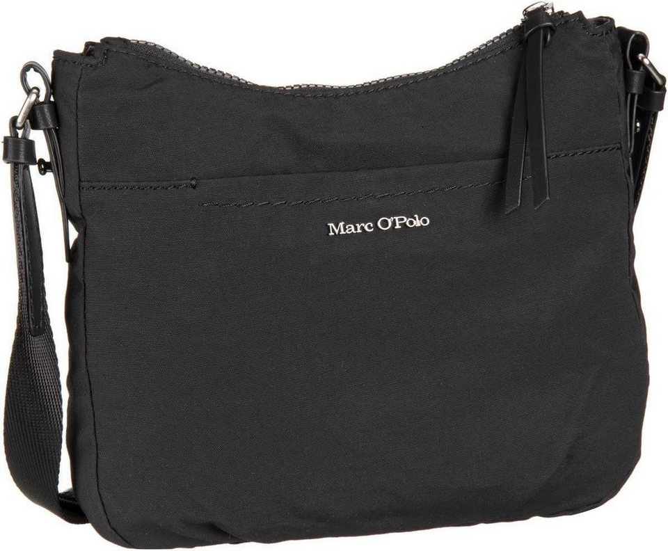 Marc O'Polo Crossbody Bag S Cotton/Nylon W4 in Black