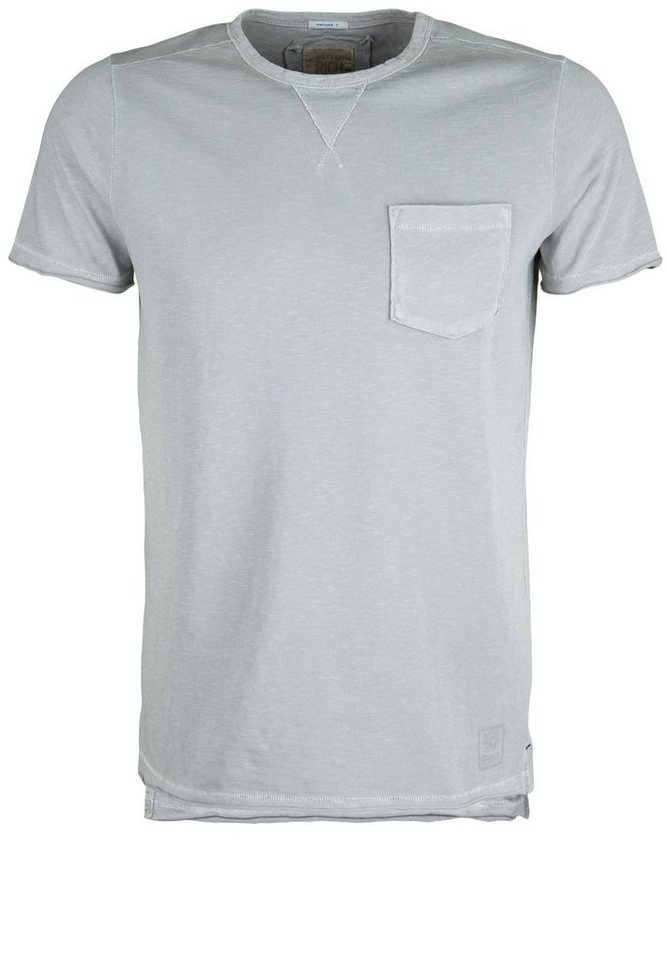 Better Rich T-Shirt »CREW POCKET PIGMENT« in moon