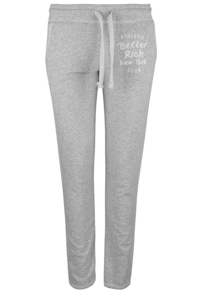 Better Rich Sweathose »GYM PANT CLUB« in gray marl