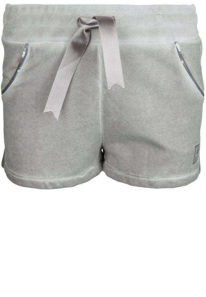 Better Rich Shorts »PAILLETTE VELVET« in moon