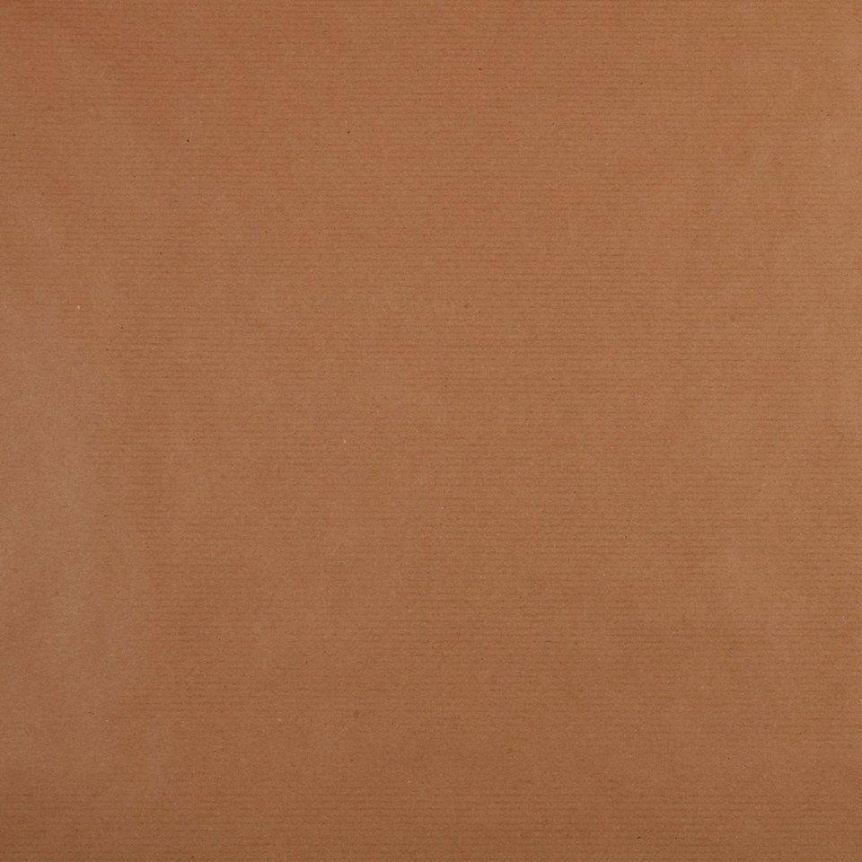 BUTLERS CRAFT »Geschenkpapier Natron« in braun