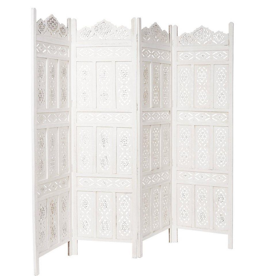 butlers estella paravent geschnitzt kaufen otto. Black Bedroom Furniture Sets. Home Design Ideas
