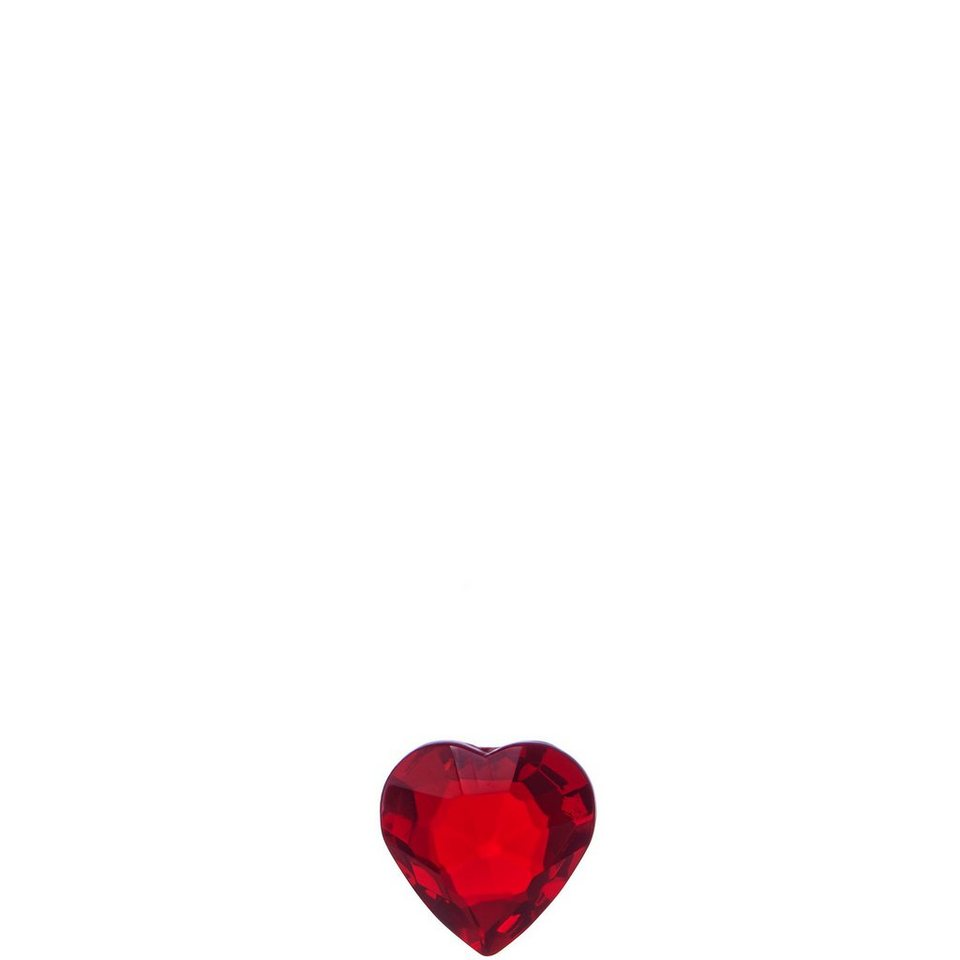 BUTLERS MONBIJOU »Kristall-Herz klein« in rot