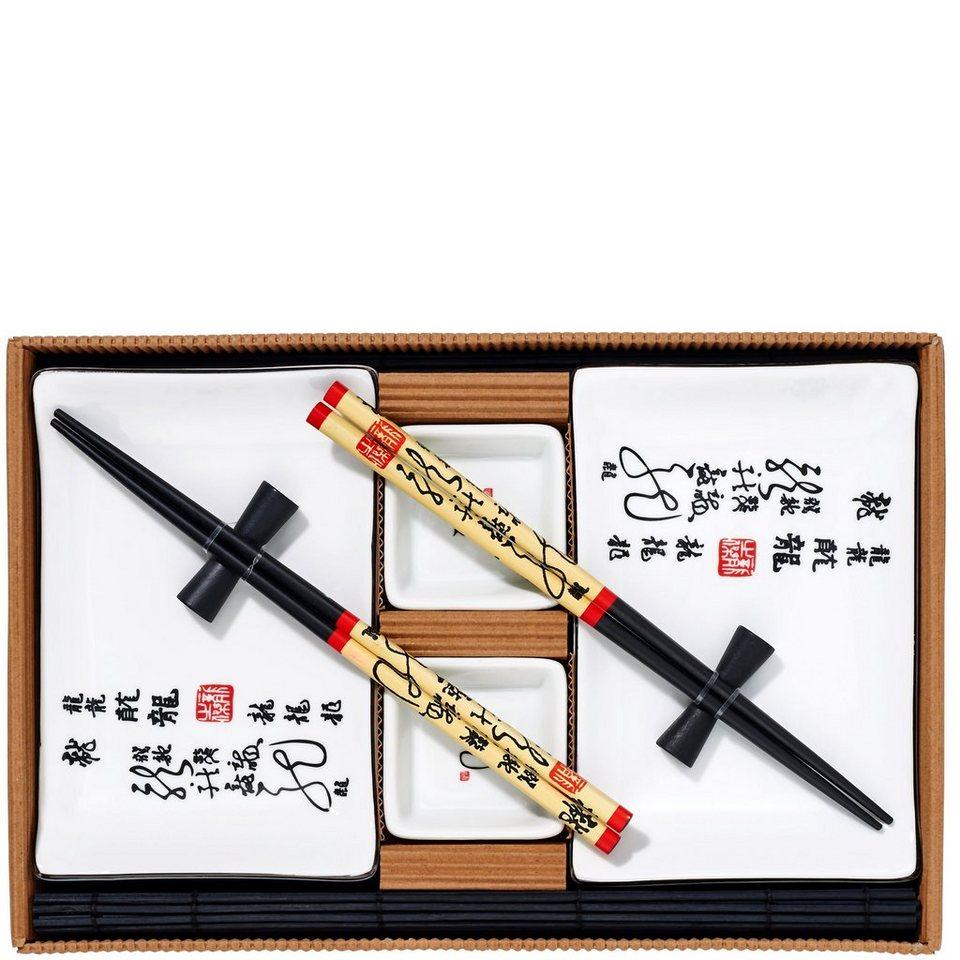 butlers dragon sushi set 10 tlg online kaufen otto. Black Bedroom Furniture Sets. Home Design Ideas