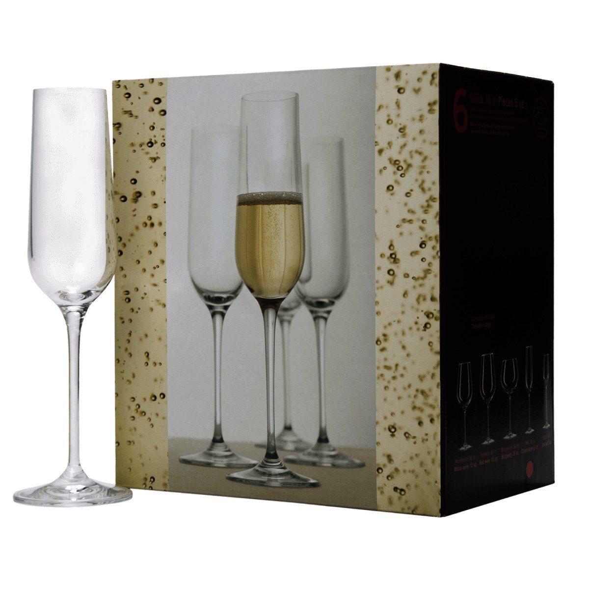 BUTLERS SANTÉ »Champagnerflöte 6er Set«