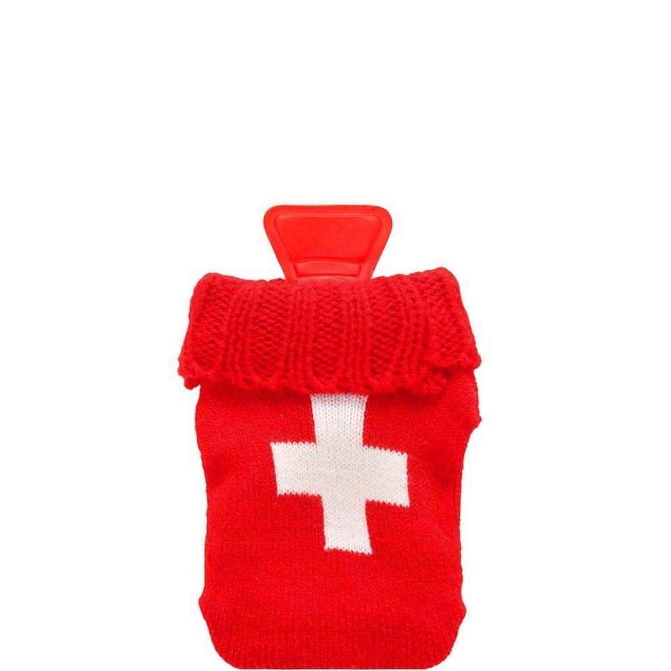 BUTLERS HOT HANDS »Handwärmer Schweizer Kreuz« in Rot