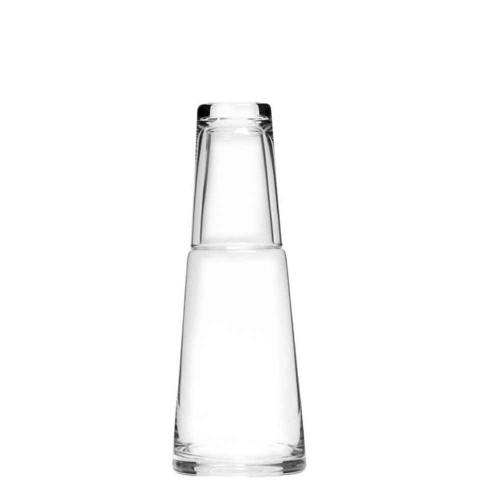 BUTLERS WATER »Glas-Karaffe 800 ml mit Trinkglas« in Transparent