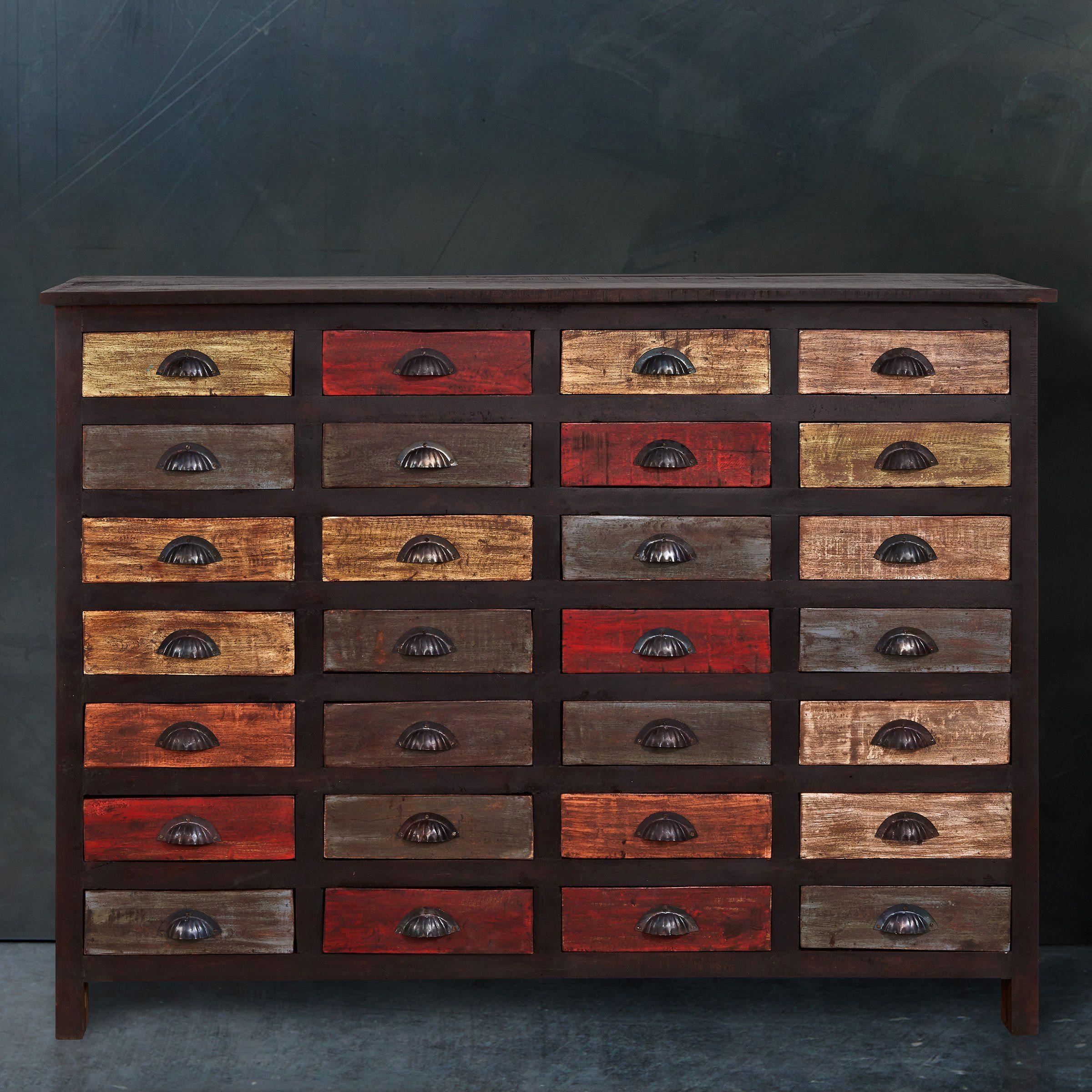 BUTLERS MONDRIANI »Sideboard mit 28 Schubladen«