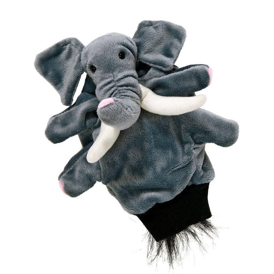 BUTLERS WILD GUYS »Handpuppe Elefant« in grau