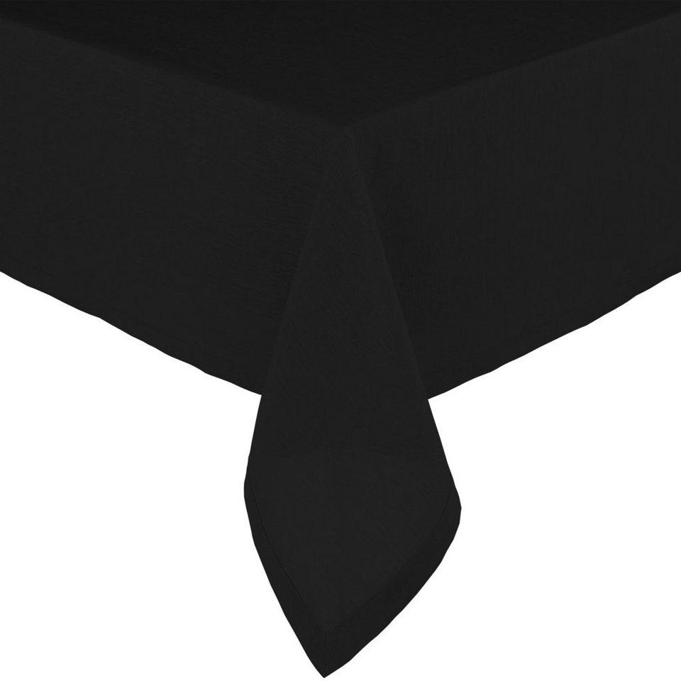 BUTLERS COMPOSITION »Tischdecke« in schwarz