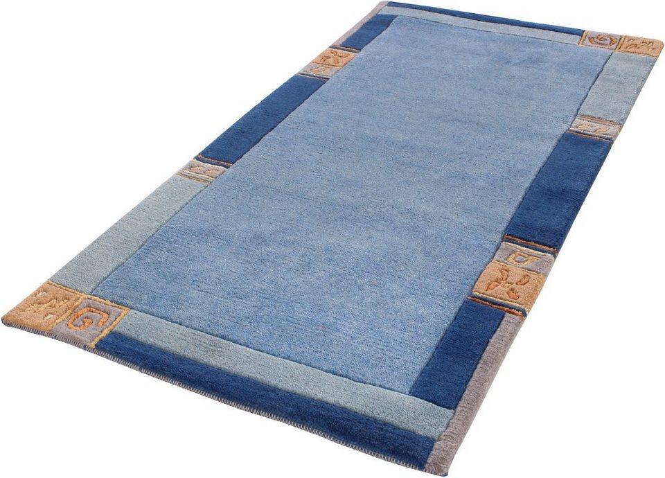 Teppich, Luxor Living, »India«, handgeknüpft  OTTO
