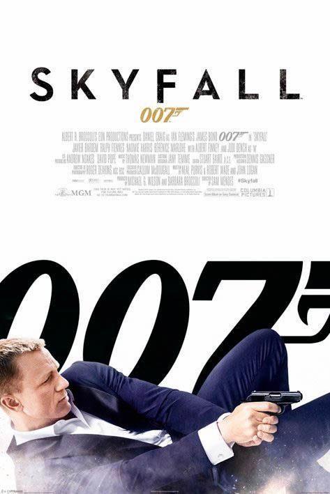 Deco Panel »James Bond - skyfall«, 60/90 cm