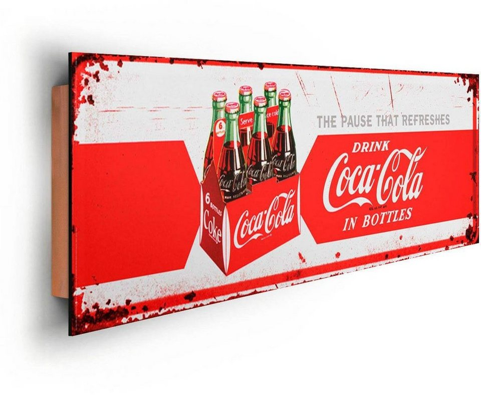 inosign deco panel coca cola refreshing 90 30 cm online kaufen otto. Black Bedroom Furniture Sets. Home Design Ideas