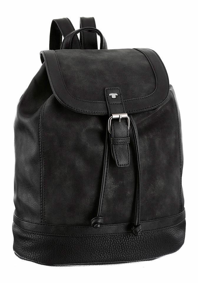 Tom Tailor Cityrucksack »JUNA« in schwarz