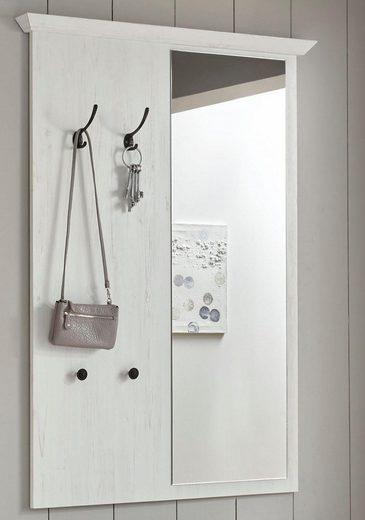 Home affaire Garderobenpaneel mit Spiegel «California» 105 cm breit