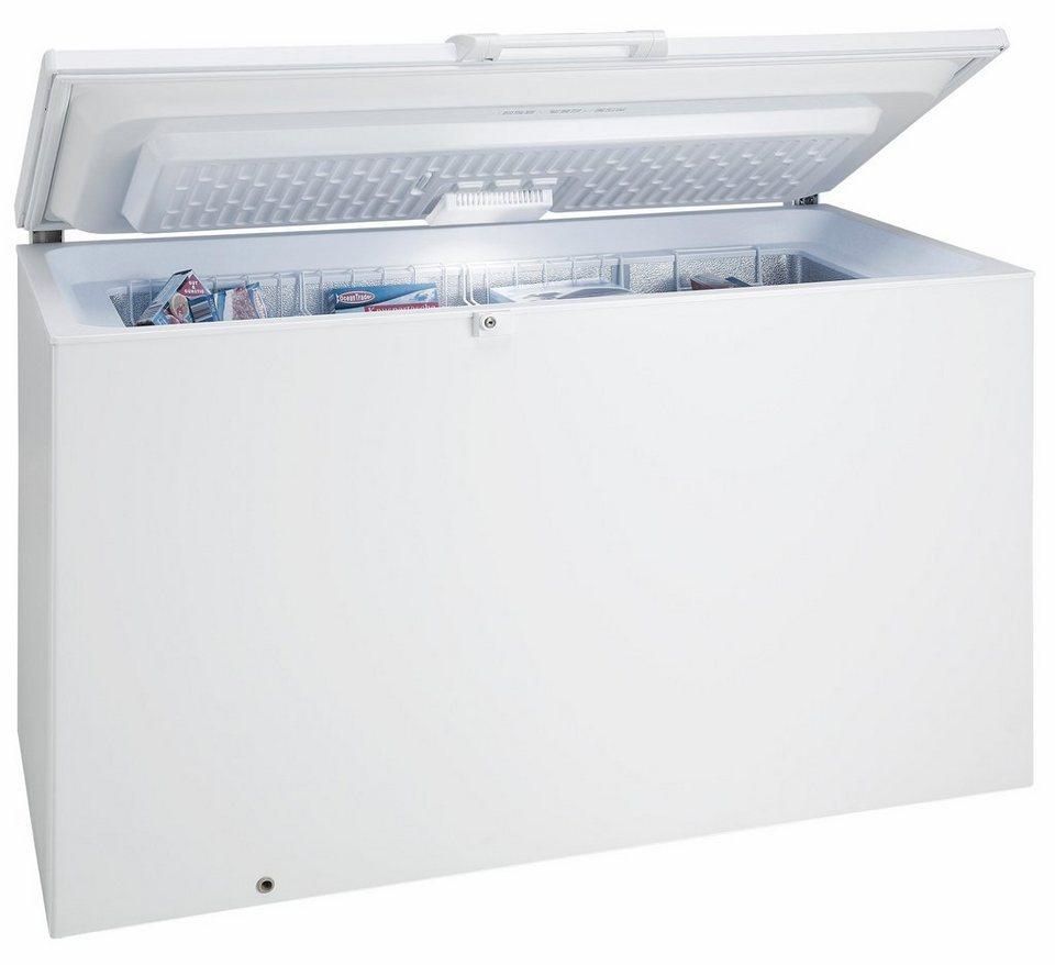Bauknecht Gefriertruhe GTE 280 A3+, A+++, 140,5 cm breit in weiß