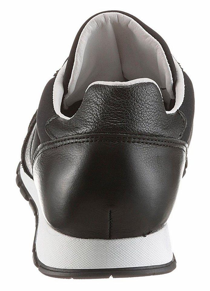 Herren Cetti Lux Sneaker mit seitlicher Logo Verzierung schwarz   08434534024652