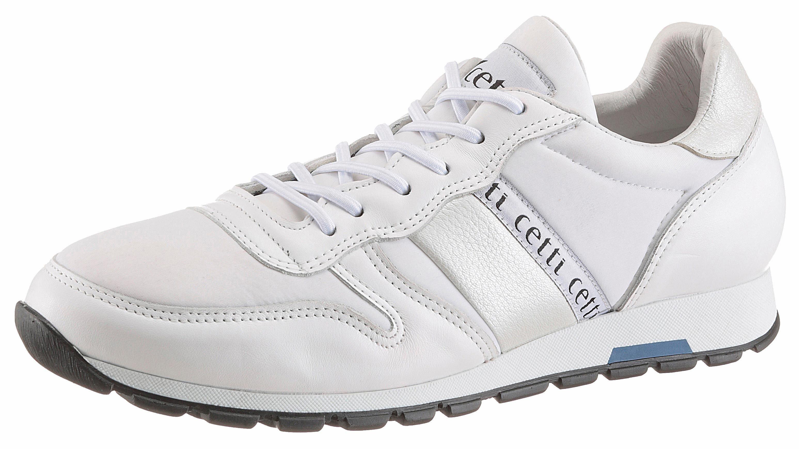 Cetti Lux Sneaker, mit seitlicher Logo Verzierung online kaufen  offwhite