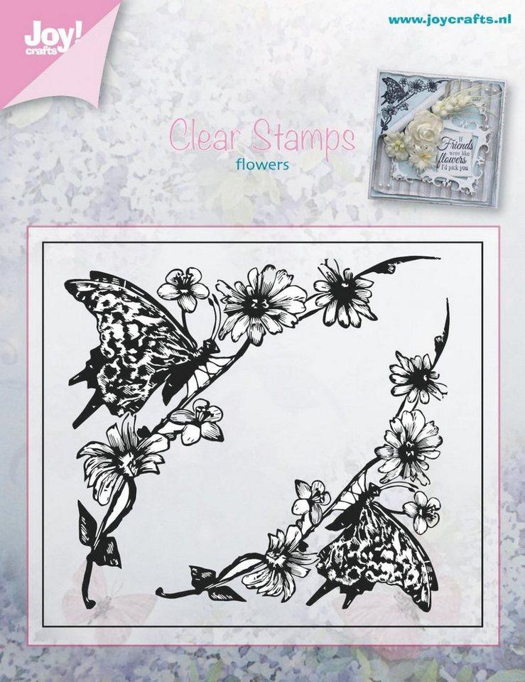 """Clear Stamps """"Schmetterlingsranke"""""""