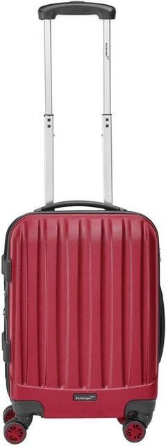 Packenger Hartschalen-Trolley »Velvet«, 4 Rollen | Taschen > Koffer & Trolleys > Trolleys | Rot | Abs | Packenger