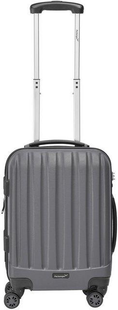 Packenger Hartschalen-Trolley »Velvet«, 4 Rollen | Taschen > Koffer & Trolleys > Trolleys | Grau | Abs | Packenger