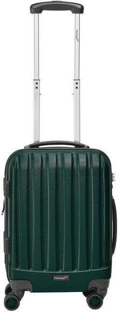 Packenger Hartschalen-Trolley »Velvet«, 4 Rollen | Taschen > Koffer & Trolleys > Trolleys | Grün | Abs | Packenger