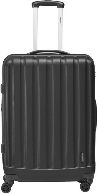 Packenger Hartschalen-Trolley »Velvet«, 4 Rollen | Taschen > Koffer & Trolleys > Trolleys | Schwarz | Abs | Packenger