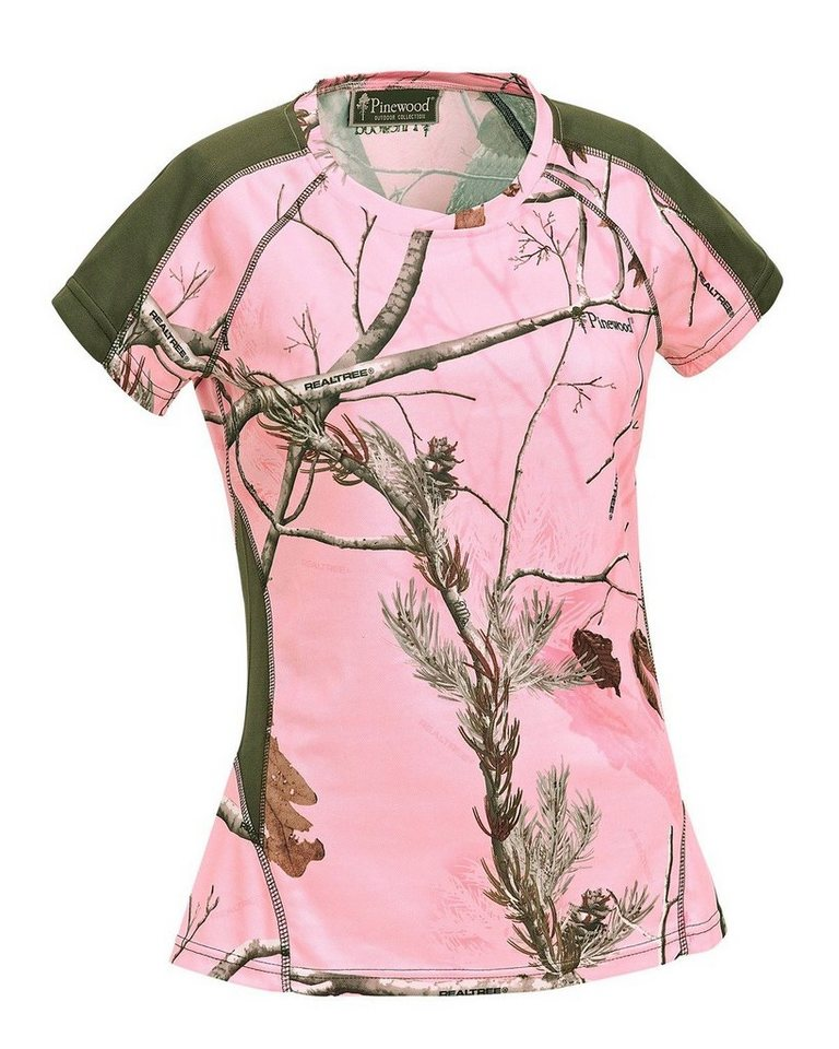 Pinewood T-Shirt in pink camo