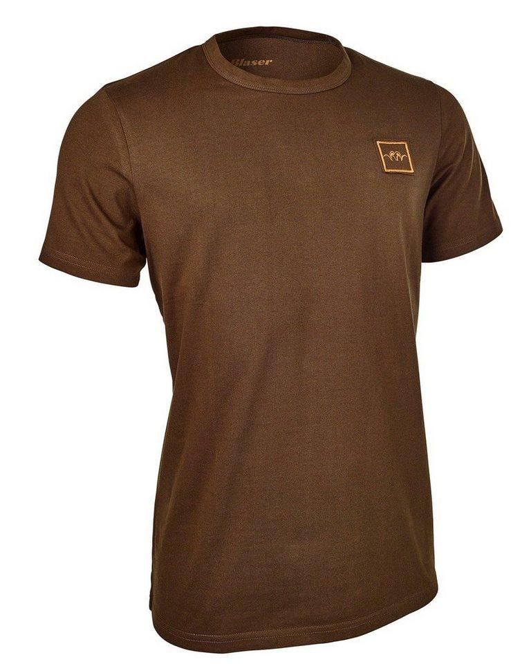 Blaser Active Outfits Argali T-Shirt Exclusiv in Braun