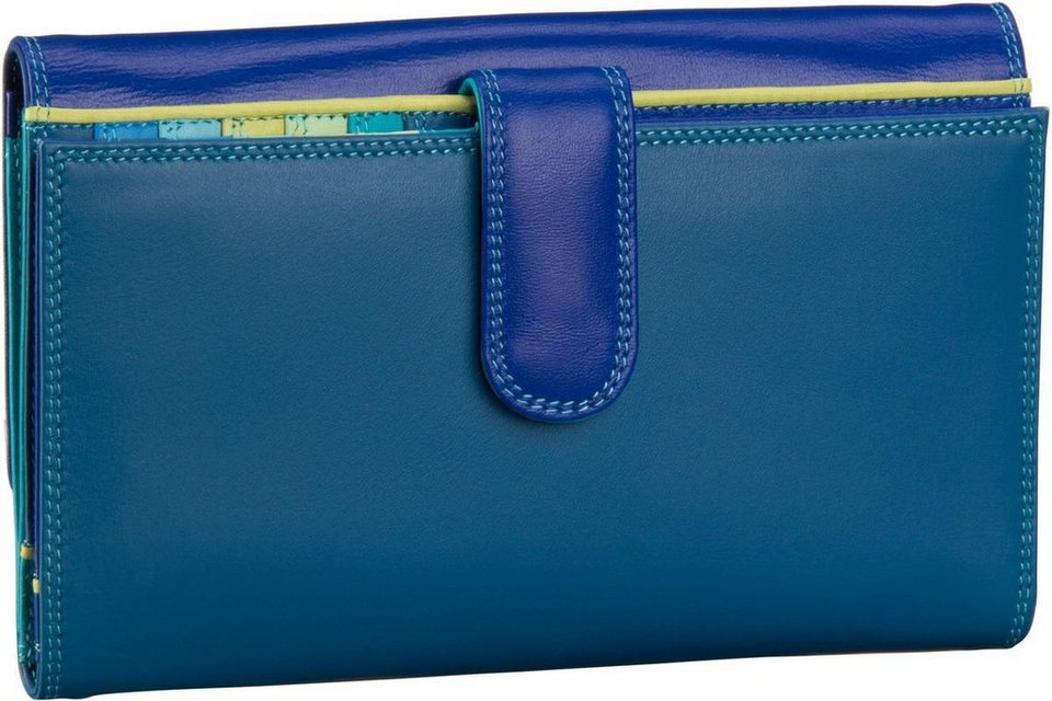 MYWALIT Large Tab Flapover Purse in Seascape