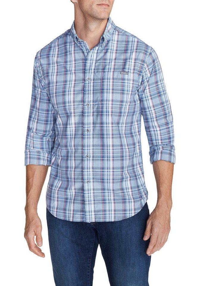 Eddie Bauer Travex® Popelinehemd in Hellblau