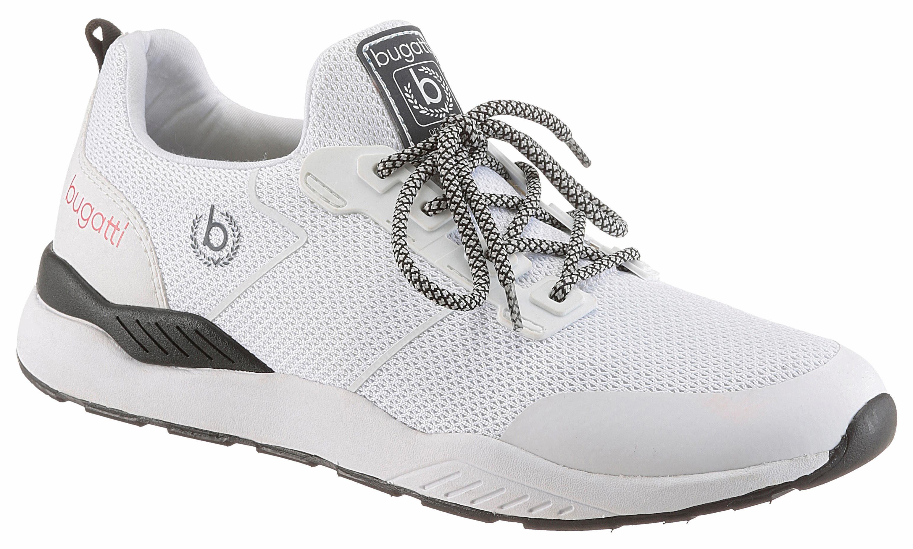 bugatti Sneaker in Weiss LLIzX