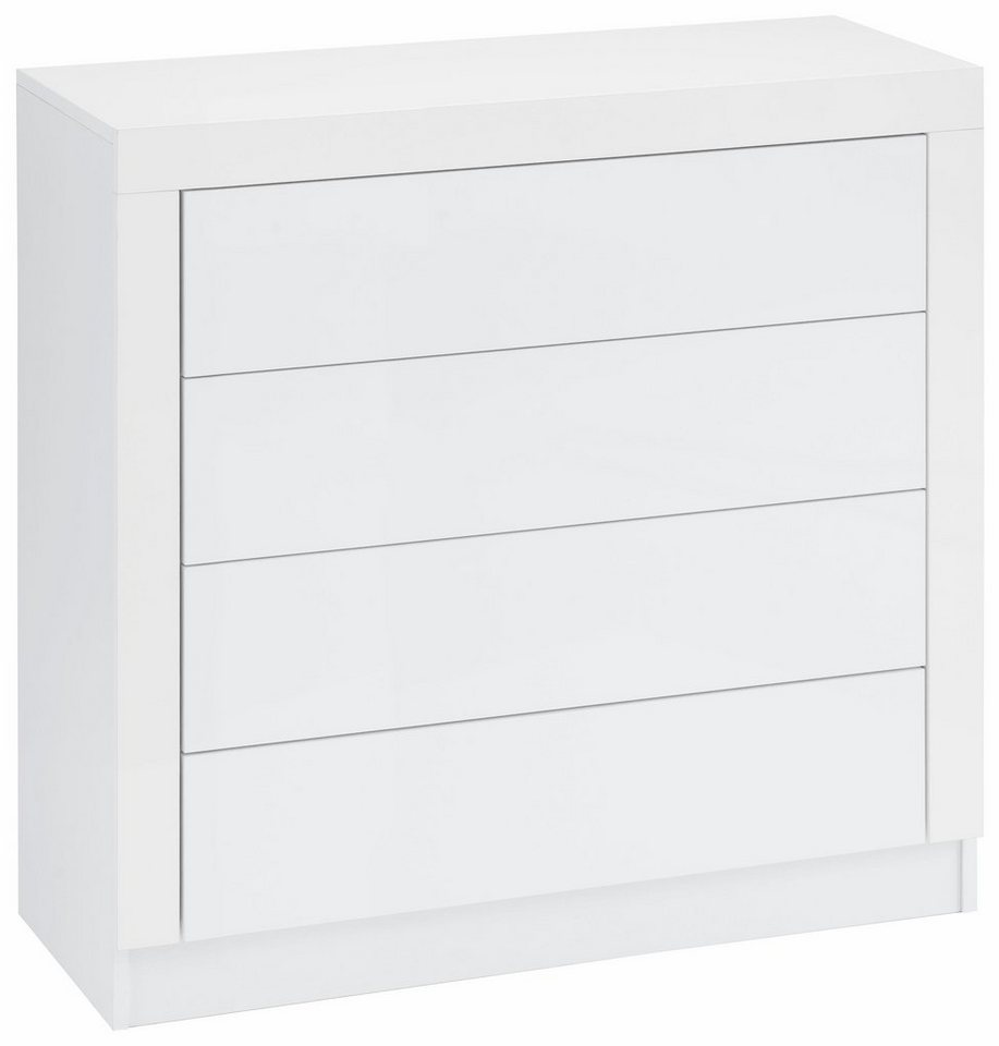 Kommode »Tana« Breite 89 cm in weiß matt