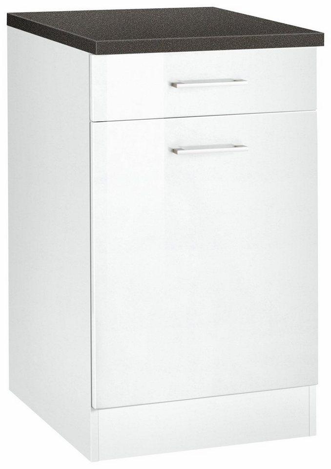 Held Möbel Unterschrank »Graz«, Breite 50 cm in weiß