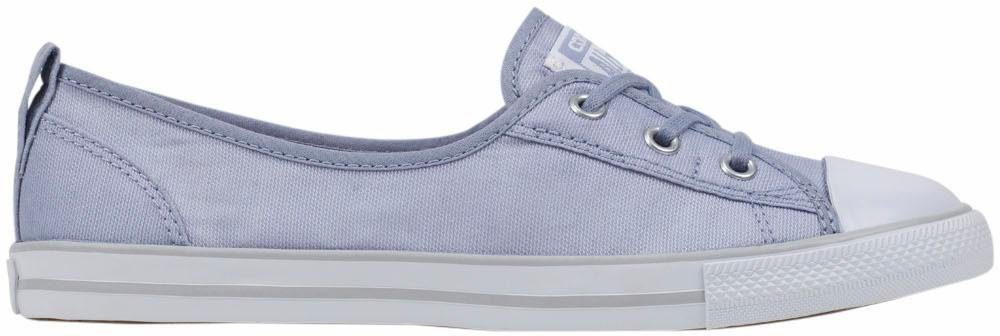 Converse Ballet Lace Stripes Slip Sneaker kaufen  hellblau-weiß