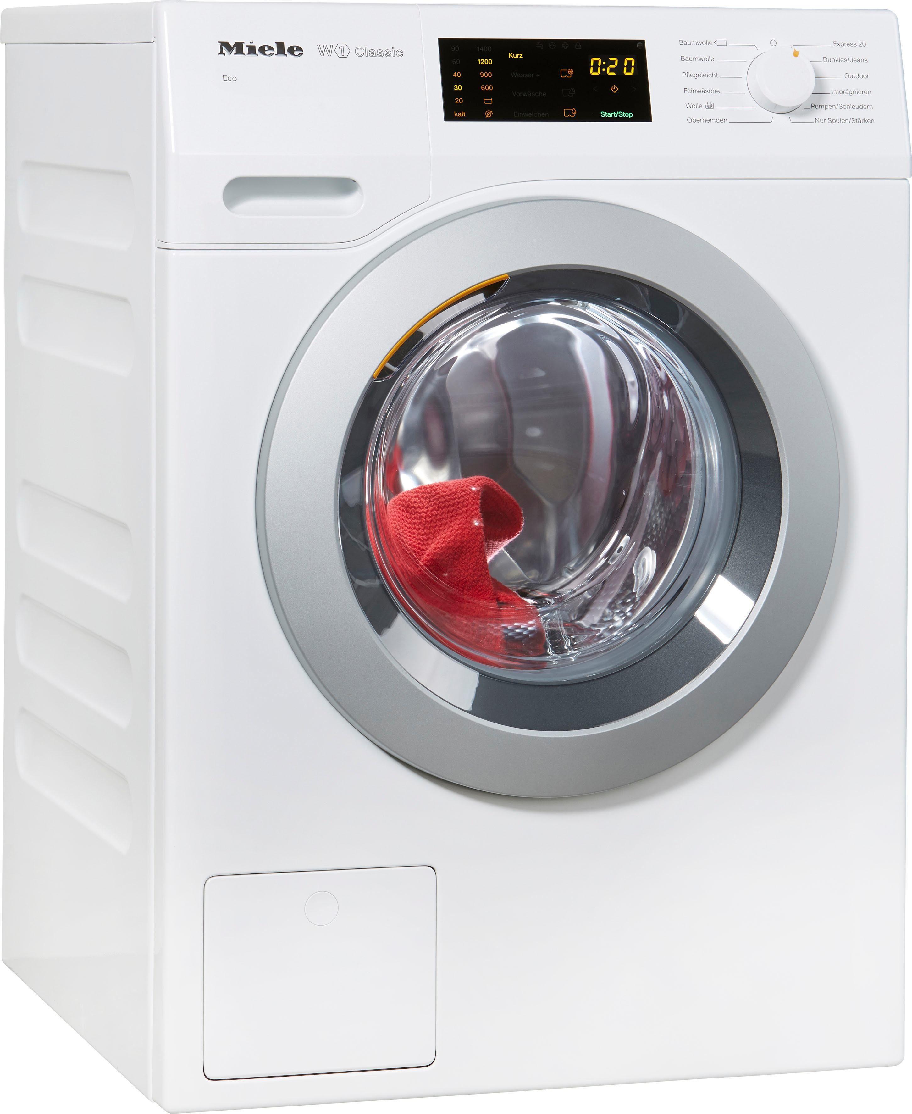 MIELE Waschmaschine WDB030WCS D LW Eco, A+++, 7 kg, 1400 U/Min