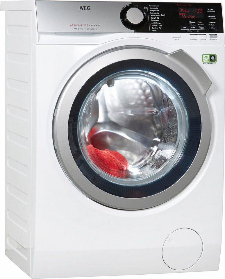 AEG Waschmaschine LAVAMAT L8FE76495, A+++, 9 kg, 1400 U/Min in weiß