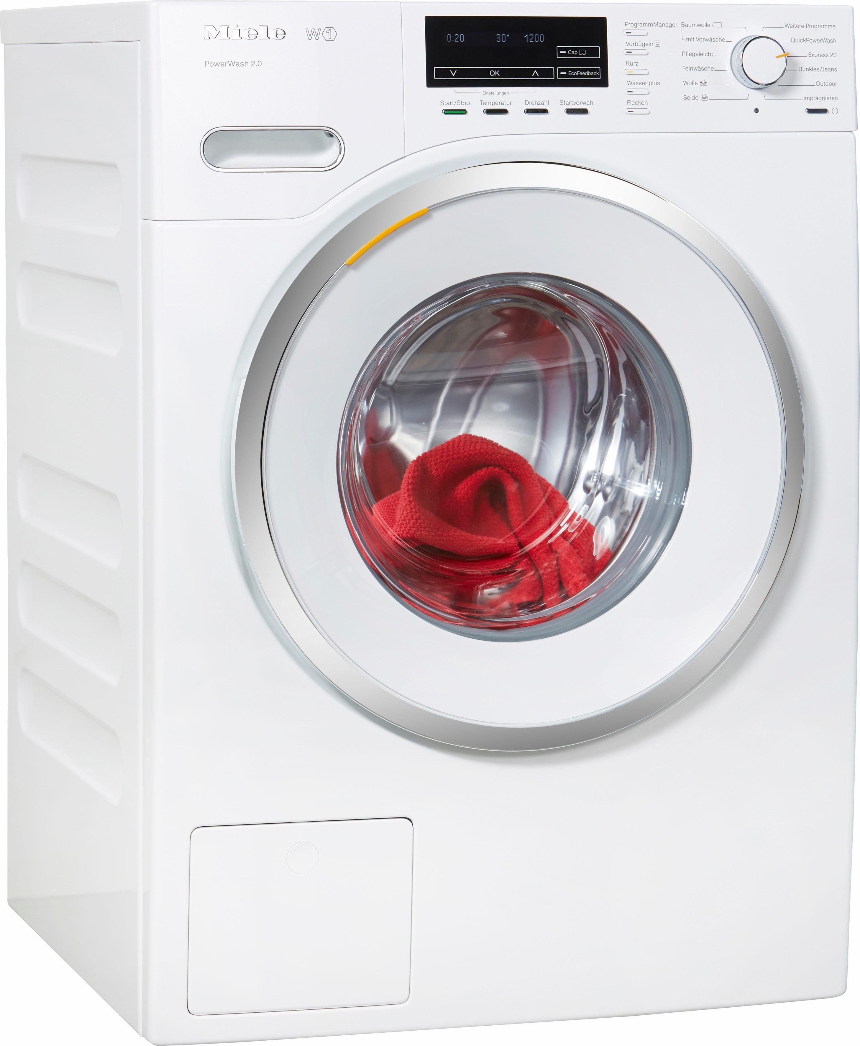 MIELE Waschmaschine WMF111WPS PWash 2.0, A+++, 8 kg, 1600 U/Min