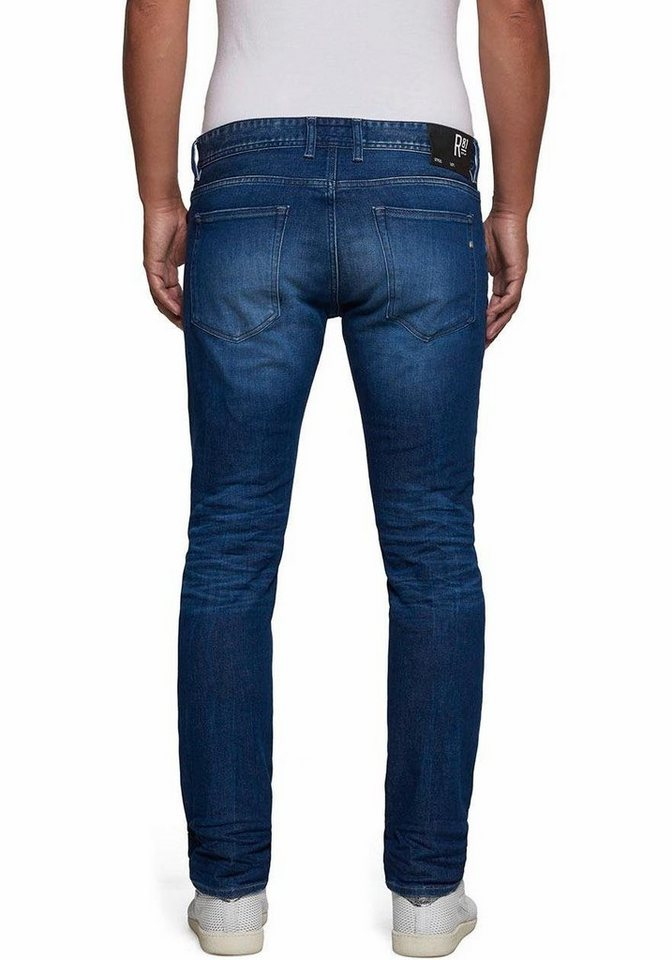 Replay Slim-fit-Jeans »Anbass« in darkblue-used