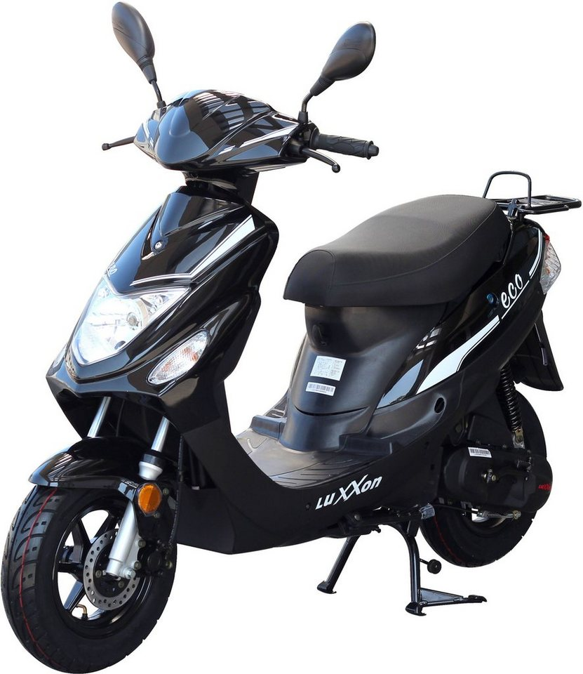luxxon motorroller eco 50 ccm 45 km h euro 2 49 ccm. Black Bedroom Furniture Sets. Home Design Ideas