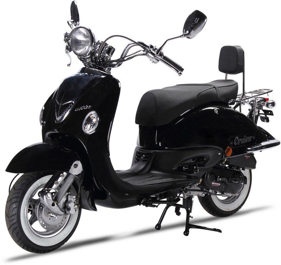 luxxon mofaroller 50 ccm 25 km h cruiser otto. Black Bedroom Furniture Sets. Home Design Ideas