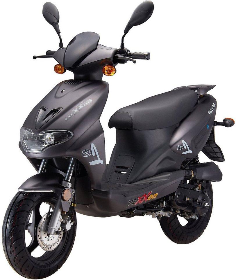 luxxon motorroller 50 ccm 45 km h exceptio otto. Black Bedroom Furniture Sets. Home Design Ideas