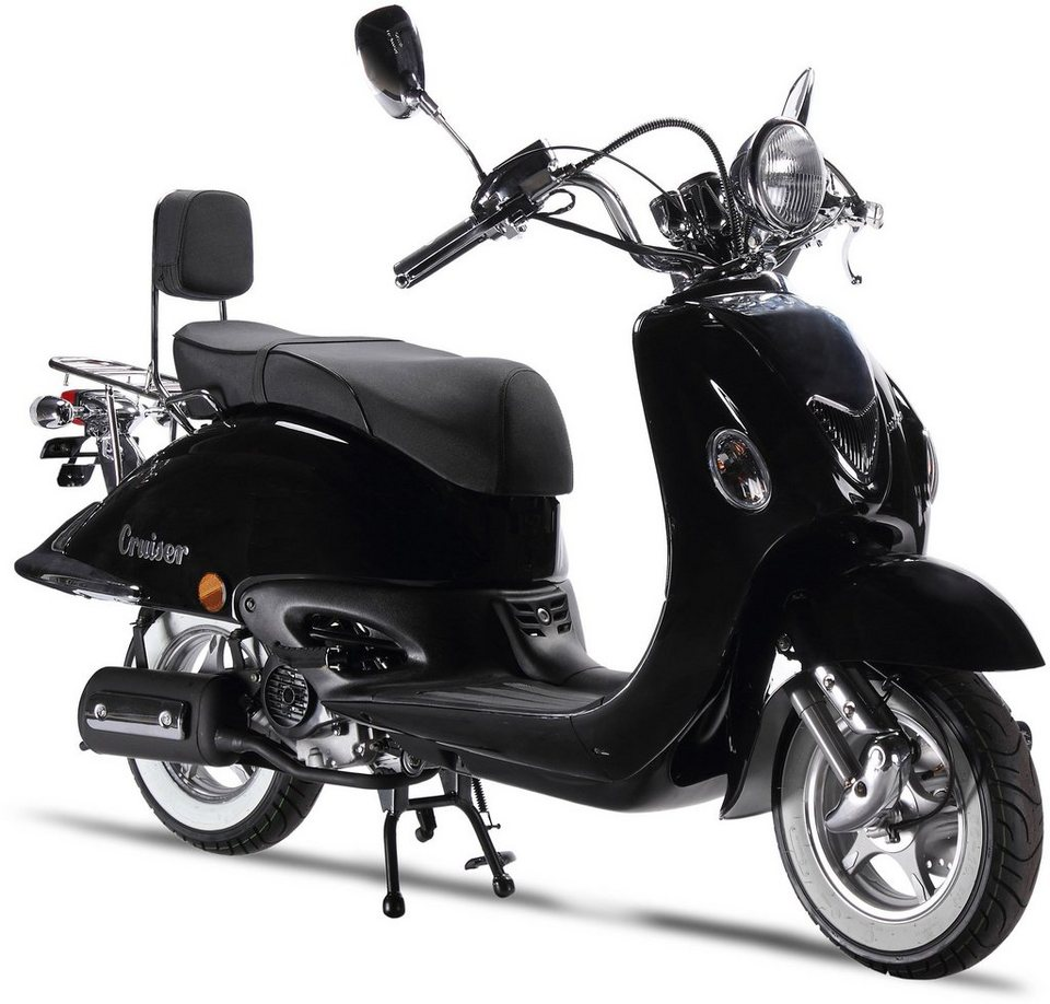 luxxon motorroller 50 ccm 45 km h cruiser otto. Black Bedroom Furniture Sets. Home Design Ideas
